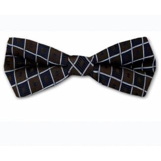 Self Tie Narrow Bow Brown Self Tie Slim