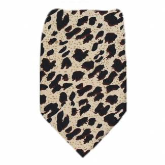 Leopard Extra Long Tie Ties