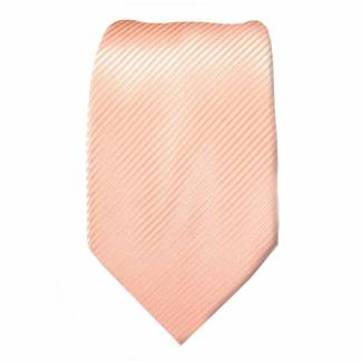 Peach Boys Solid Tie Ties