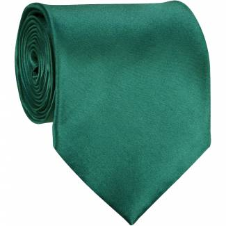 Teal Green Solid Tie Regular
