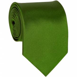 Tree Green Solid Tie Regular
