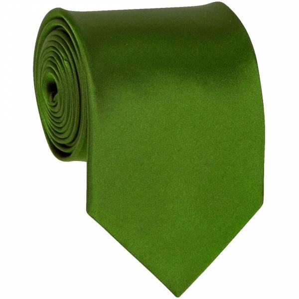 Tree Green Solid Tie Regular