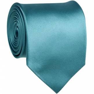 Turquoise Solid Tie Regular