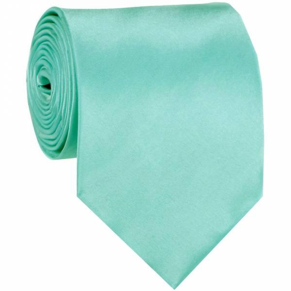 Tiffany Blue Solid Tie Regular