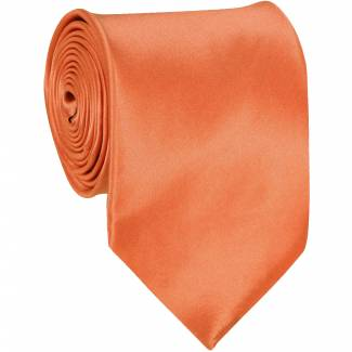 Coral Mens Solid Tie Regular