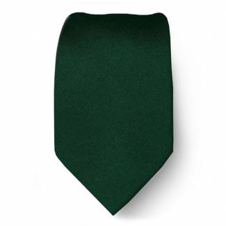 Green Boys Solid Tie Ties
