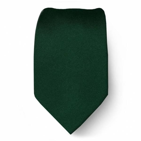 Green Boys Solid Tie Ties