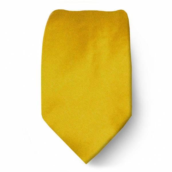 Gold Boys Solid Tie Ties