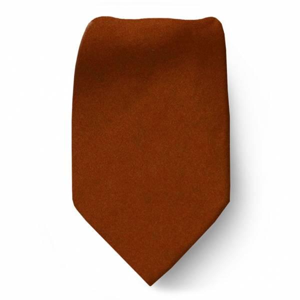 Boys Tie Rust Ties
