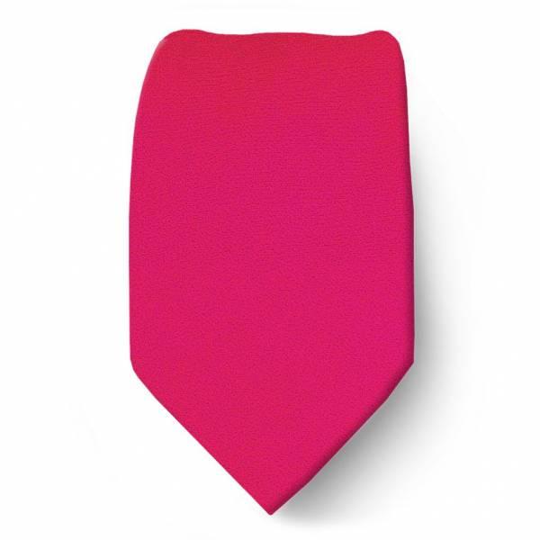 Fuchsia Boys Solid Tie Ties