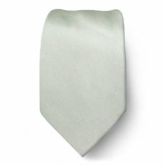 Silver Boys Solid Tie Ties