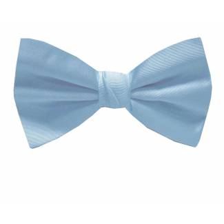 XL Self Tie Bow Blue Self Tie Big & Tall