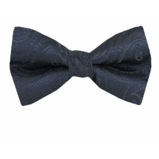 Charcoal Pre Tied Bow Tie