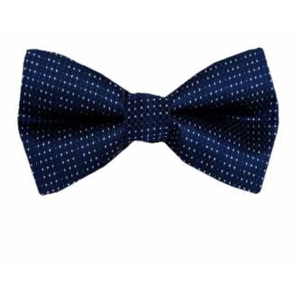 Navy Pre Tied Bow Tie