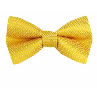Yellow Pre Tied Bow Tie