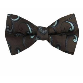 Brown Tiffany Pre Tied Bow Tie