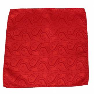Red Pocket Square Pocket Squares