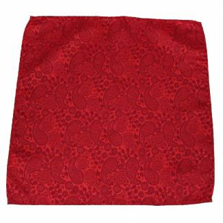 Red Pocket Square Pocket Squares