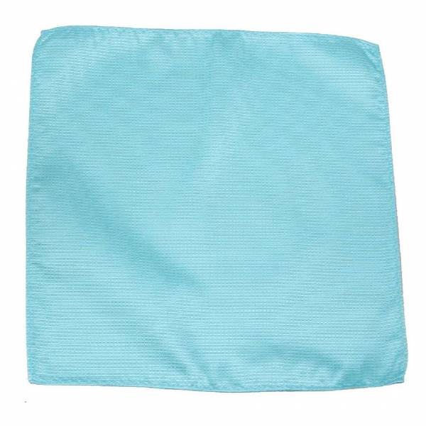 Aqua Pocket Square Pocket Squares