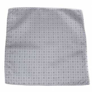 Silver Pocket Square Pocket Squares