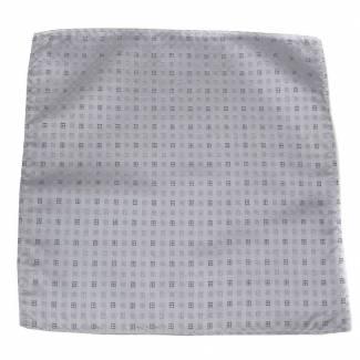 Silver Pocket Square Pocket Squares
