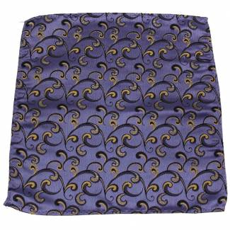 Lavender Gold Pocket Square Pocket Squares