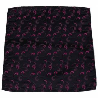 Brown Fuchsia Pocket Square Pocket Squares