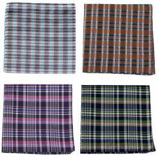 Silk Pocket Square Pack Assorted Packs