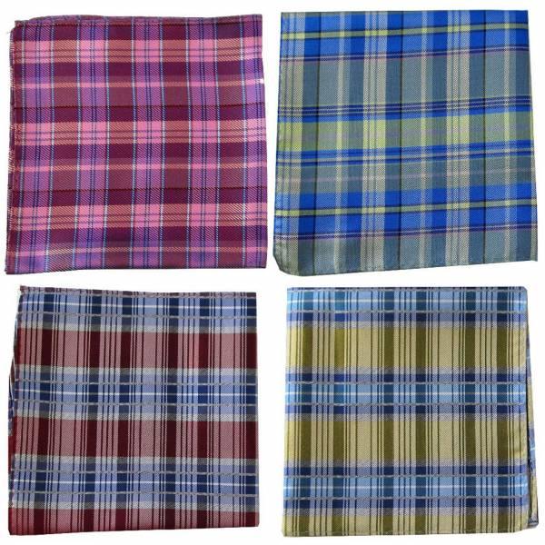 Silk Pocket Square Pack Assorted Packs