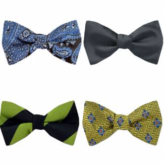 Pre Tied Bow Tie Pack Pre Tied - Assorted Packs