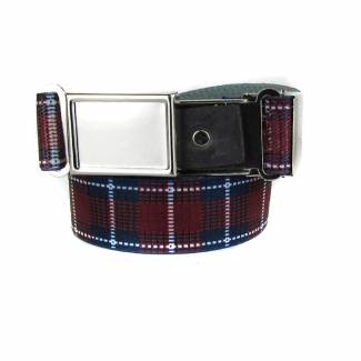 Made In U.S.A. Plaid Boys Belt Belts