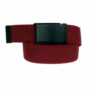 Made In U.S.A. Casual Solid Belt