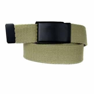 Made In U.S.A. Casual Solid Belt