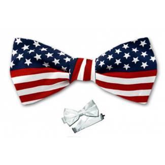 Boys FLAG Bow Tie