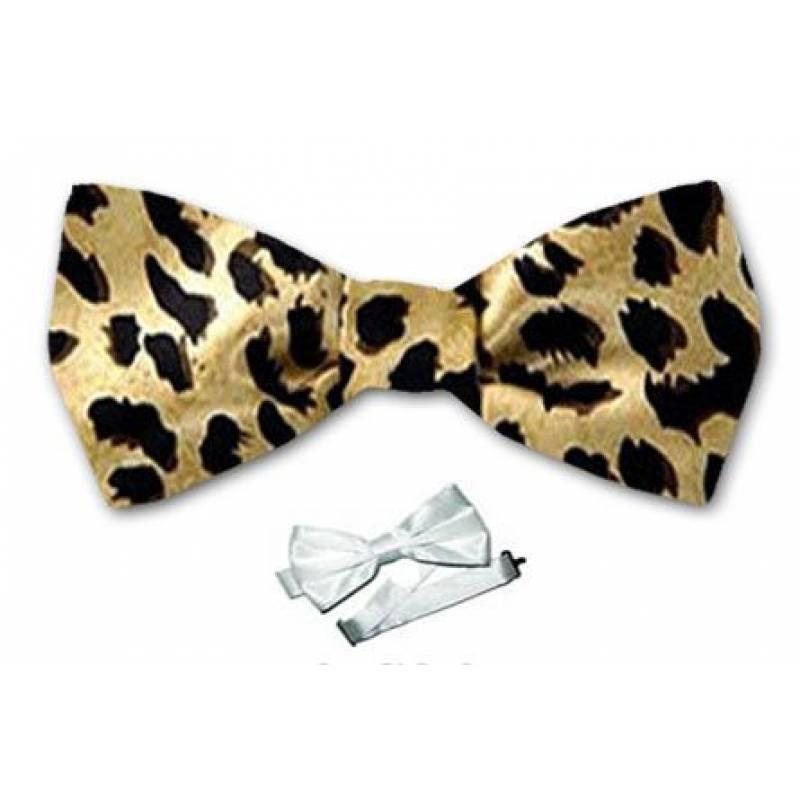 Leopard Print Bow Ties Leopard