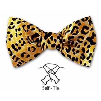 Cheetah Bow Tie