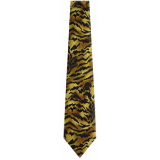 Tiger Animal Print Tie Animal Ties