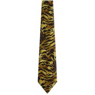 Tiger Animal Print Tie Animal Ties