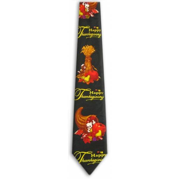 Thanksgiving Tie Holiday Ties