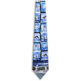 Dolphin Tie Animal Ties