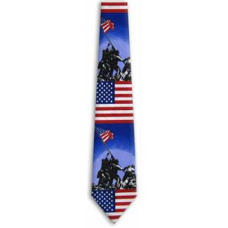 Raising the Flag Tie Brand Name