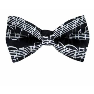 Music Pre Tied Bow Tie