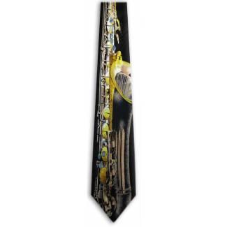 Saxophone Tie Music Ties