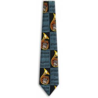 Wind Instrument Tie Music Ties