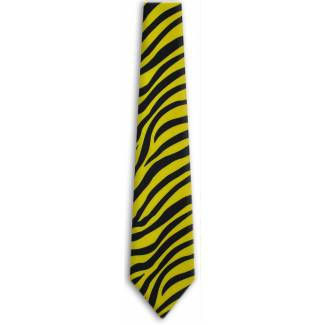 Zebra Print Tie Animal Ties