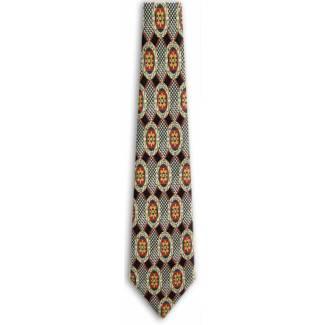 XLong Retro Silk Tie