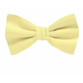XL Solid Bow Tie Self Tie Big & Tall