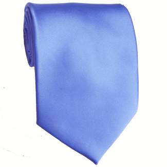Blue Solid Tie Regular