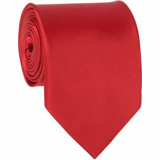 Red Solid Tie Regular