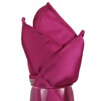 Fuchsia Pocket Square